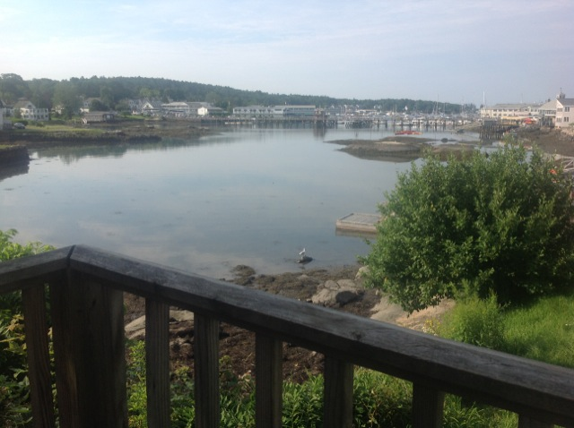 Boothbay Harbor Flowing Tide in Downeast Maine