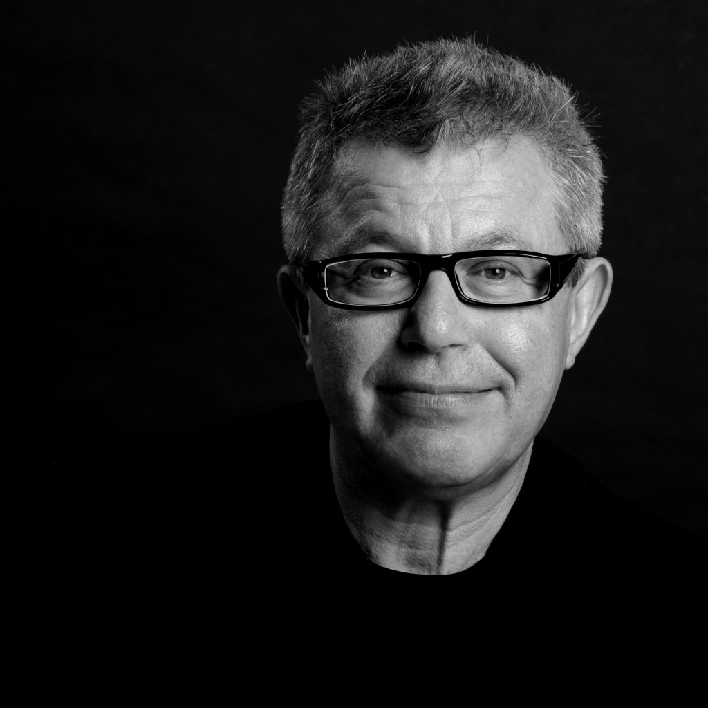 Daniel Libeskind, a genius with architecture, photographed by Ilan Besor.