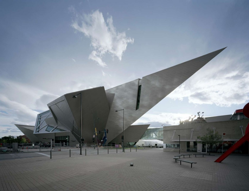 Denver Art Museum designed by Studio Libeskind.