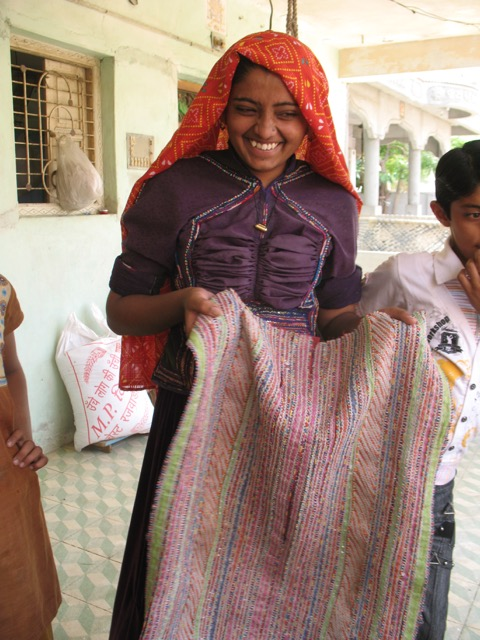 Welspun's SPUN Collection Supports Women in India working with threads