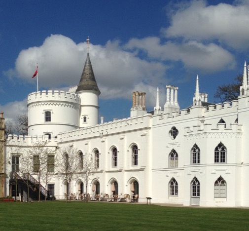 Strawberry Hill House by Saxon Henry