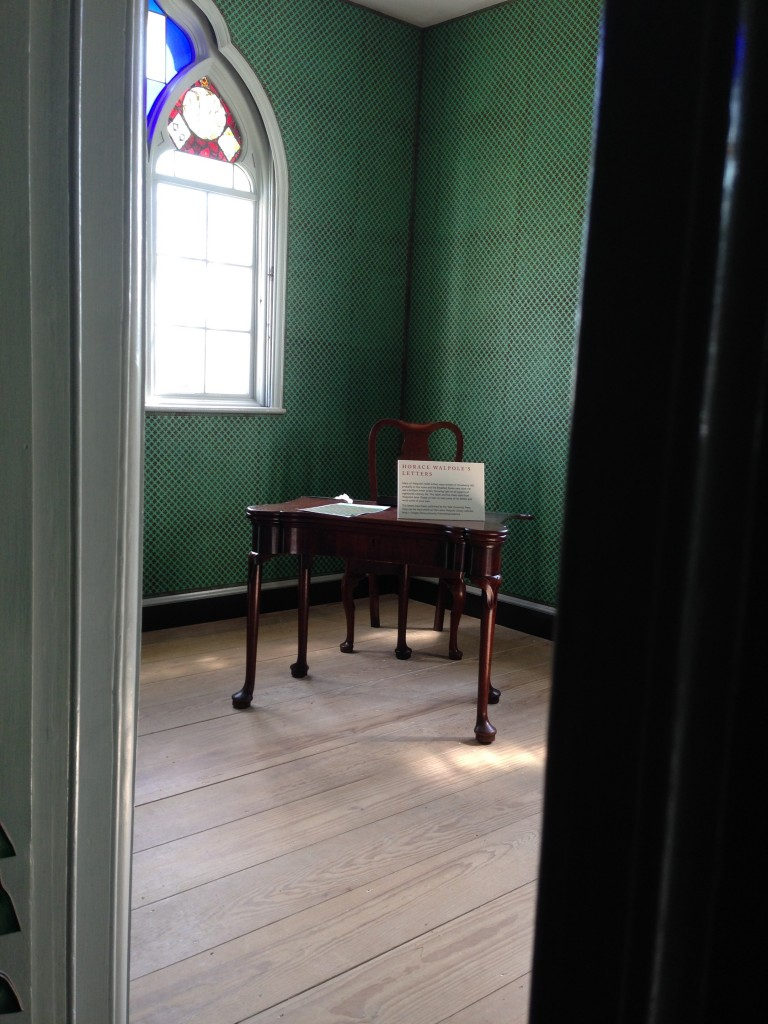 Where Horace Walpole wrote most of his letters.