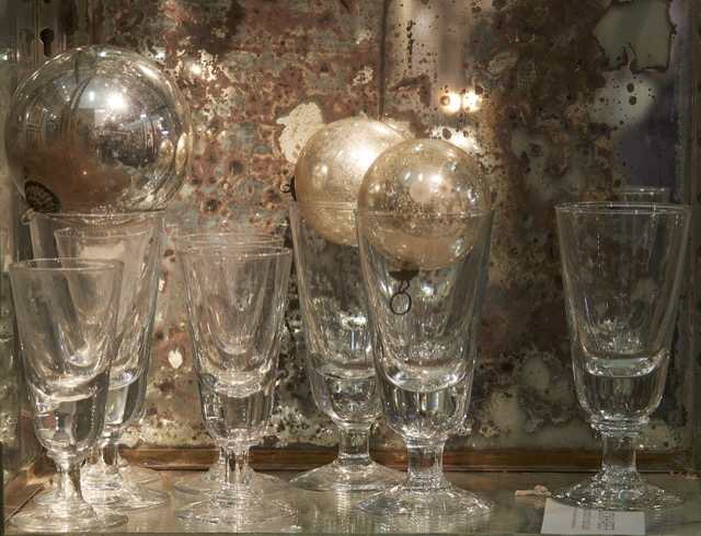 The Decorative Fair is great for vintage glassware