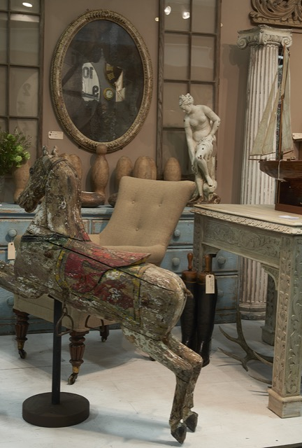 Joshua Gallery sales wares at The Decorative Fair