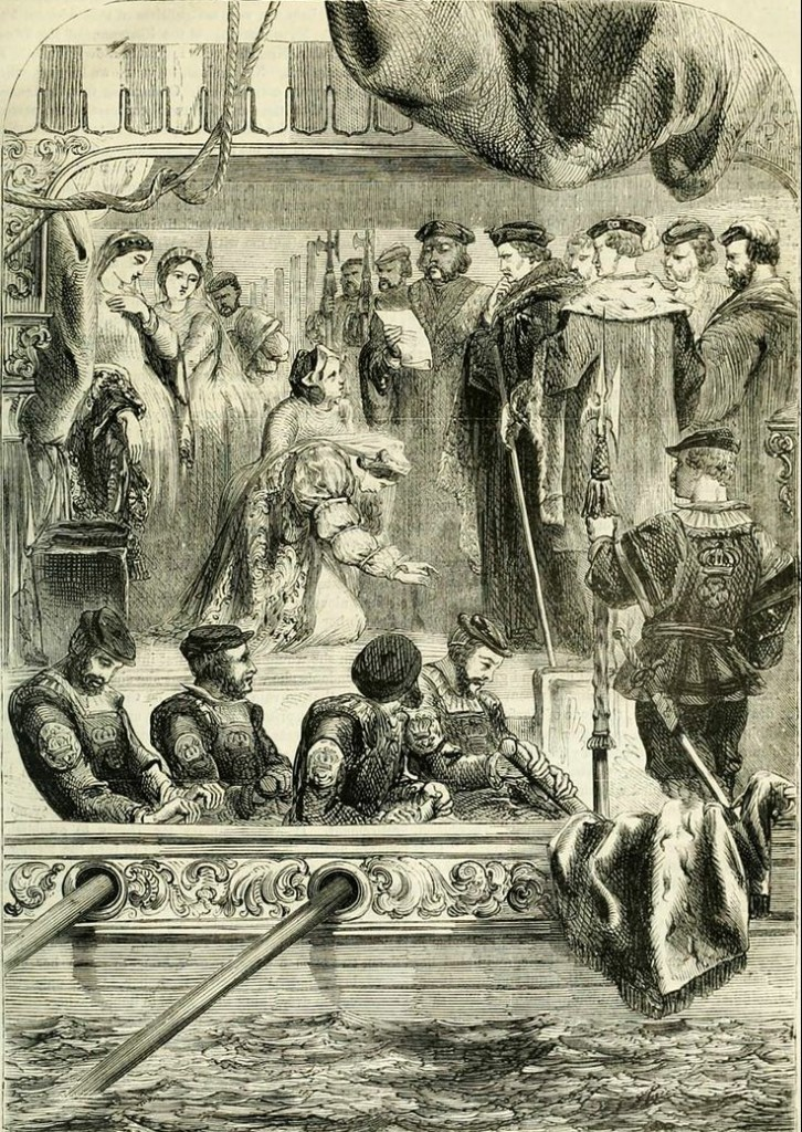 Anne Boleyn arrest