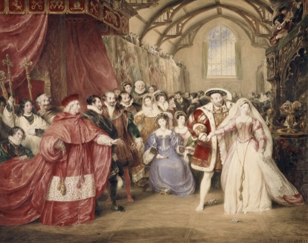 Banquet of Henry VIII Cult of Cloth
