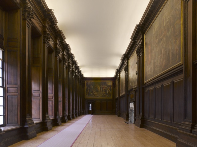 The Carton Gallery at Hampton Court Palace