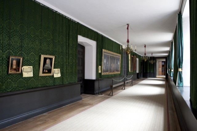 The Haunted Gallery at Hampton Court Palace
