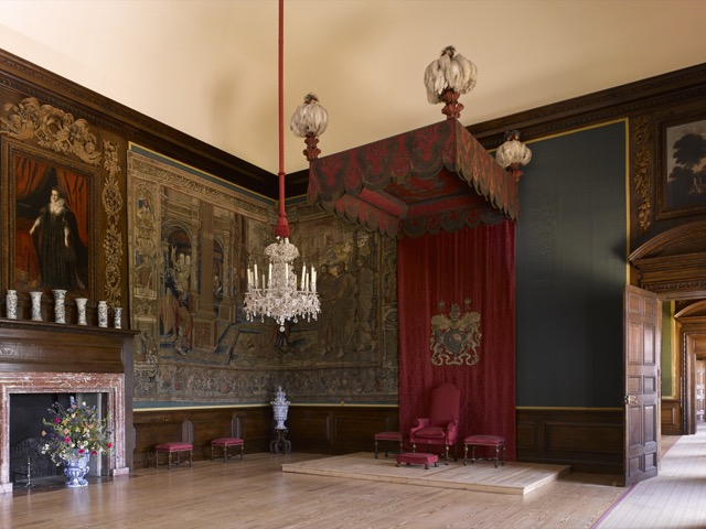 The King's Privy Chamber at Hampton Court Palace. Image courtesy HCP.