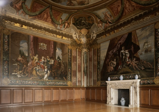 The Queen's Drawing Room at Hampton Court Palace