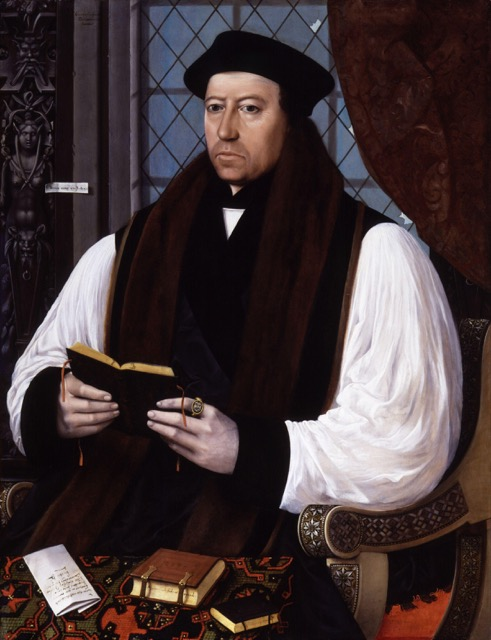 Painting of Thomas Cranmer