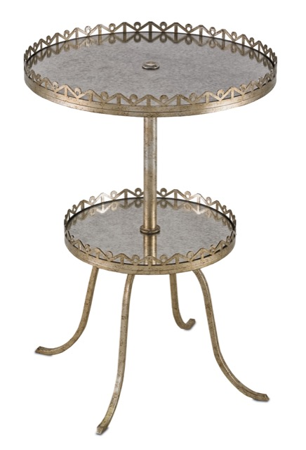 Currey and Company's Bellevue Accent Table