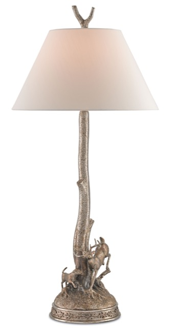 Currey and Company's Stag Table Lamp