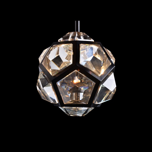 Timothy Oulton's Geode pendant