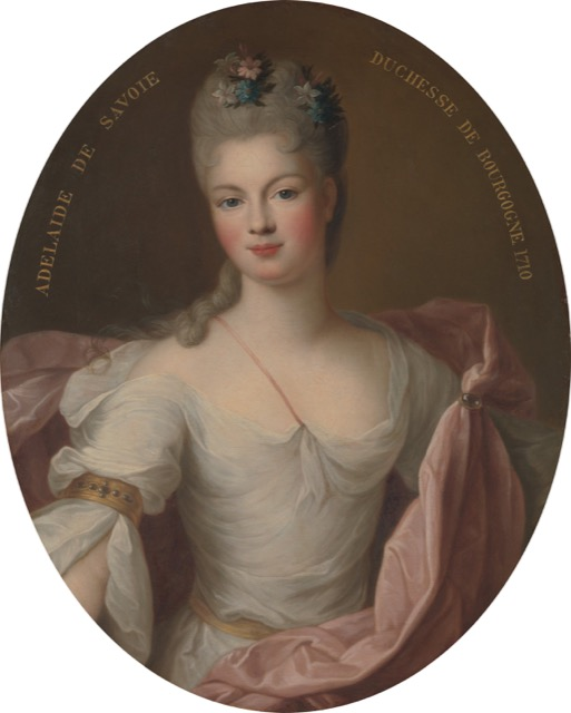 Louis XV's mother, Marie Adelaide of Savoy