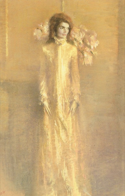 One of the portrait studies of Jacqueline Kennedy as First Lady