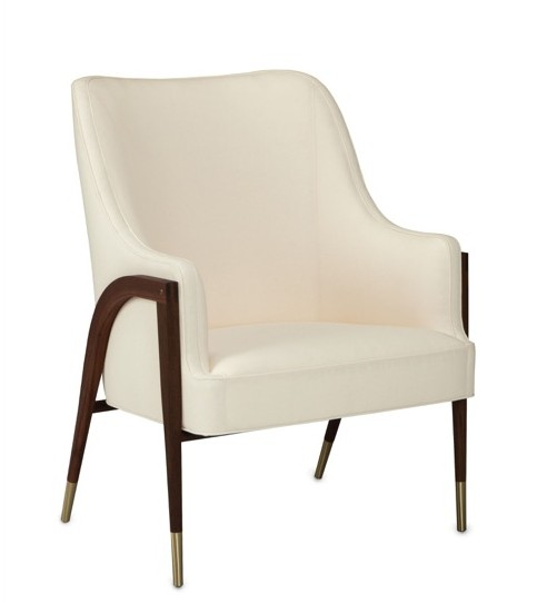 Currey and Company introduces the Dunbar Austen Chair