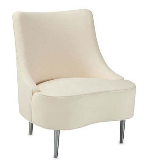 Currey and Company introduces the Dunbar Tear Drop Chair