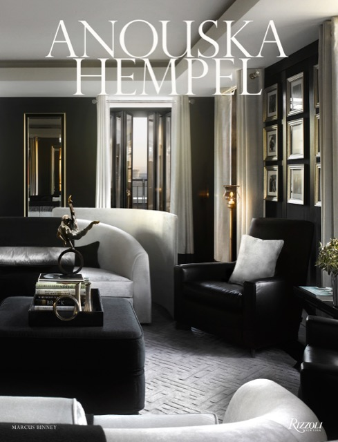 The book Anouska Hempel is one of the narratives that illuminate design