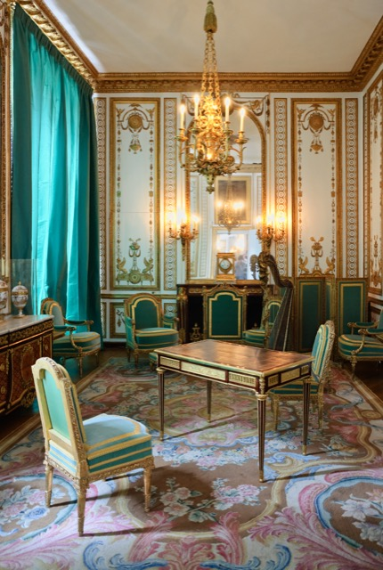 The private apartments of Marie Antoinette at Versailles