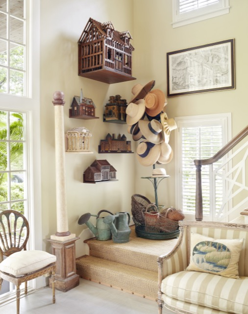 One of Charlotte Moss's homes filled with garden accouterments
