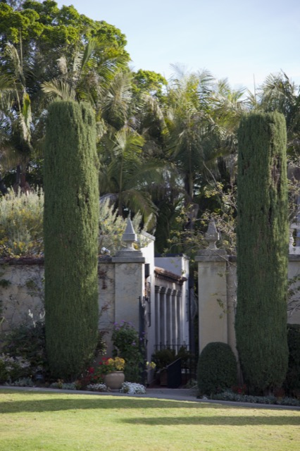 Charlotte Moss visits historic gardens around the globe.