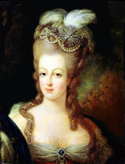 Marie Antoinette portrait by Jean-Baptiste Gautier Dagoty