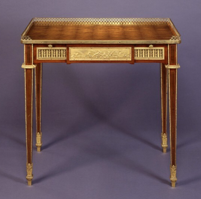 Marie Antoinette's writing table in the NGA's collection