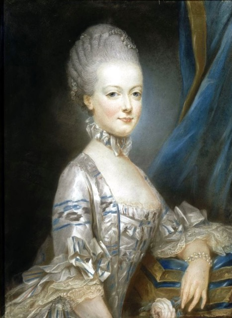 A portrait of Marie Antoinette painted by Joseph Ducreux