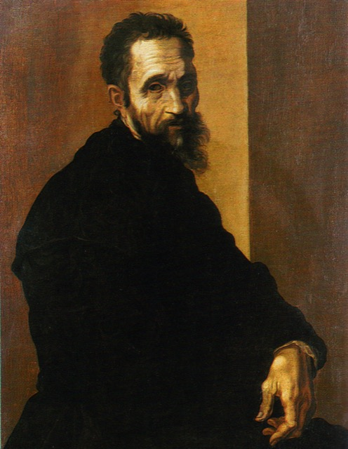Michelangelo painted by Jacobin del Conte