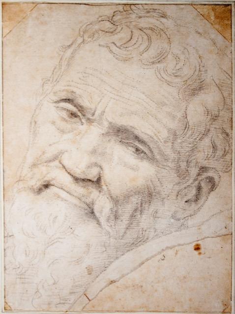 A portrait of Michelangelo by Daniele da Volterra