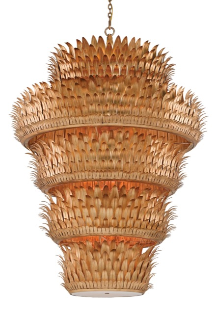 The Currey and Company Havana Grande chandelier
