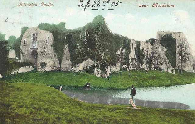 Allington Castle in 1905.