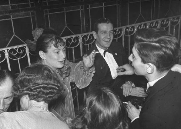 Dorothy Parker and Alan Campbell in 1938