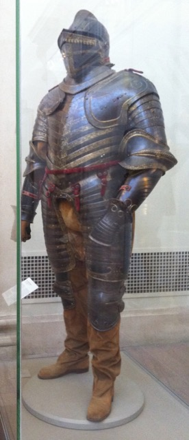 The field armor of King Henry VIII worn in Calais