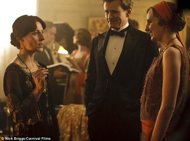 Virginia Woolf parties with Edith Crawley and Michael Gregson