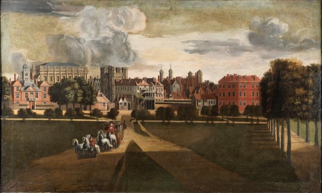 Whitehall Palace with the Banqueting House