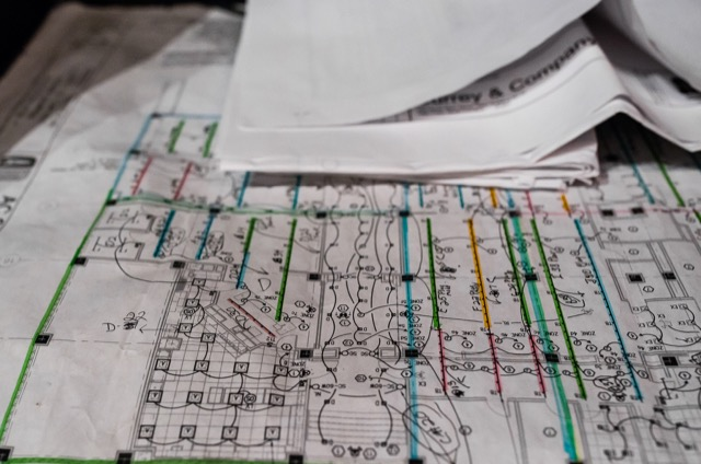 Plans for Currey and Company High Point showroom