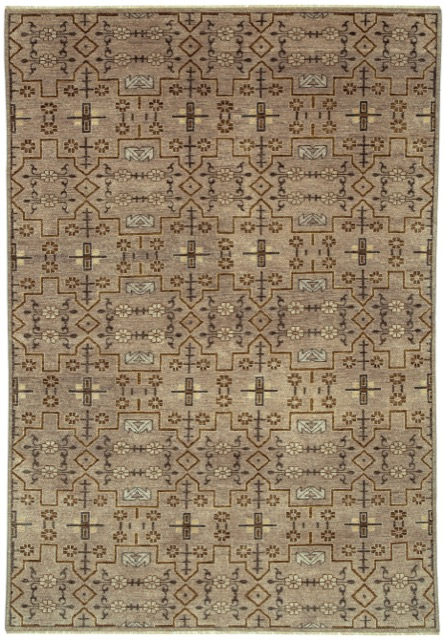 The Sava rug in Stone by Currey and Company