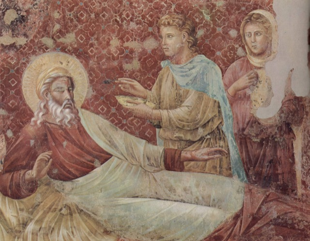 """""""Isaac rejects Esau"""" by Giotto"""