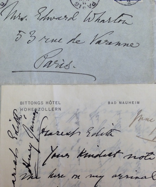 Henry James Wrote from Bittongs Hotel