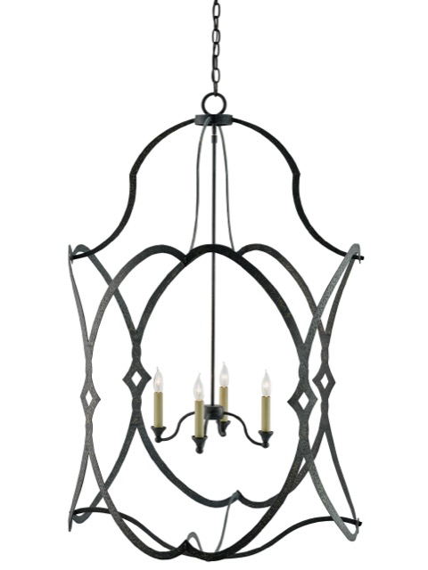 Large Charisma Lantern by Currey and Company.