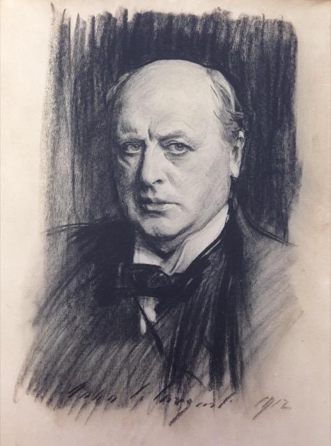 John Singer Sargent's sketch of Henry James