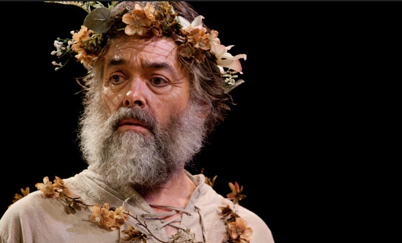 Stephen Paul Johnson as a beset King Lear in HVSF