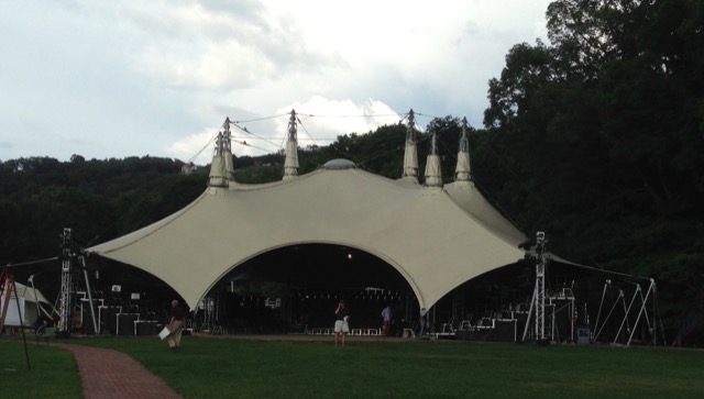 Boscobel HVSF Tent celebrating Shakespeare