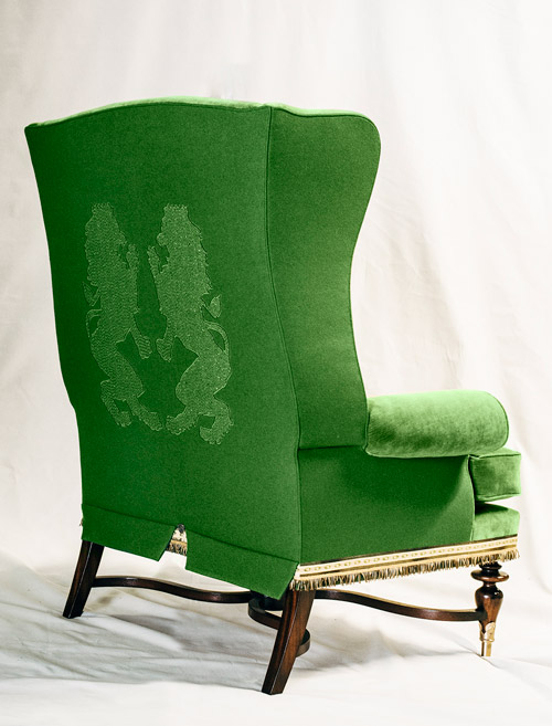 Bruce Andrews Designs chair the seat of Scottish power