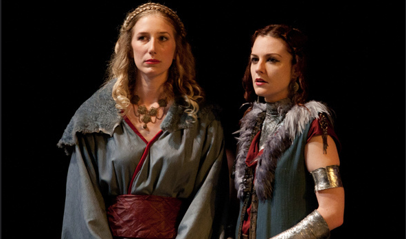 Regan and Goneril in 2013 HSVF King Lear