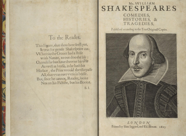The First Folio celebrating Shakespeare in the US