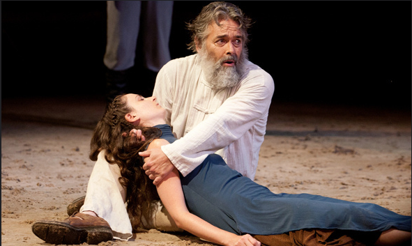 Stephen Paul Johnson plays King Lear HVSF
