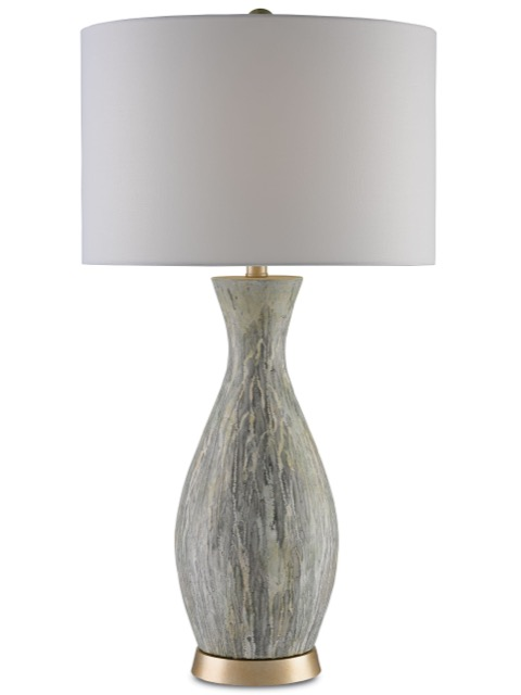 The Rana table lamp by Currey and Company